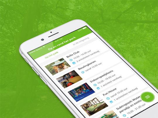 Download Landal Greenparks app her